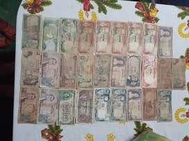 Se vende coleccion de billetes antiguos