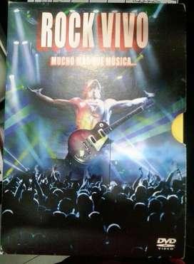 Rock Vivo Estuche Dvd