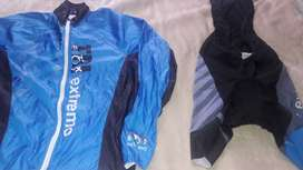 Traje de ciclismo y dos prendas mas todo en $600
