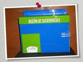 BUZONES DE SUGERENCIA
