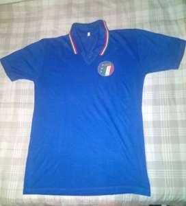 Camiseta de la Selección de Italia de Fútbol Retro Original