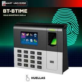 Biométrico Control Asistencia Reloj  Biotime Bt-btime Usb Red