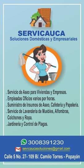 Servicio Limpieza para hogares y empresas