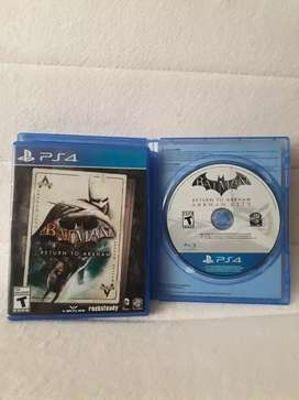 "Batman ""Return to Arkham""  Ps4"