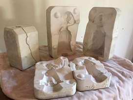 Moldes ceramica y marmolina