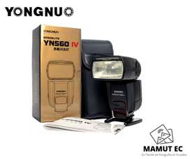 Flash Yongnuo Yn560 Iv For Nikon Sony Canon Fuji Etc