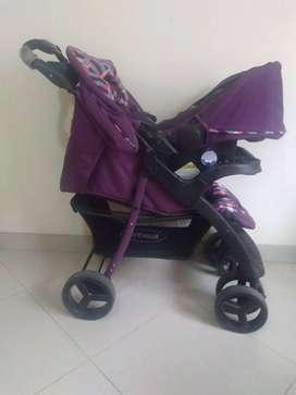 Coche 4 en 1 Sistema de Viaje Matix Bebesit
