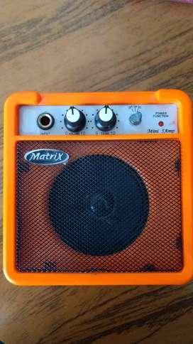 Vendo amplificador a batería o fuente