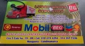 Venta de lubricantes y servicios D&G