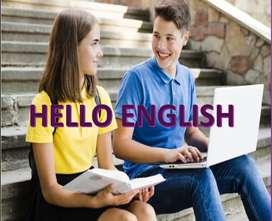 Clases de inglés personalizadas para todos los niveles.