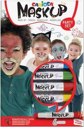 Maquillaje Carioca Artístico Mask Up