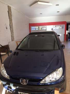 Peugeot 206 Azul