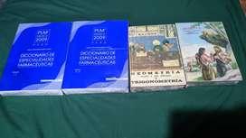 En venta libros en buen estado baldor ; atlas etc