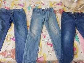 Vendo jean talla 12 de segunda