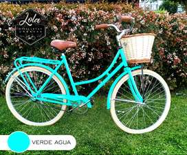 Bicicleta RONDINELLA VINTAGE INGLESA Rodado 26½