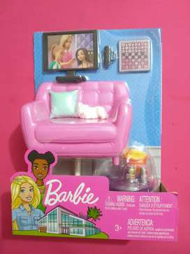 Barbie Set Sala de TV