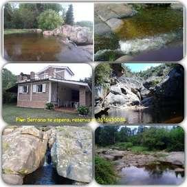 Casa en alquiler en Tanti , Villa Flor Serrana