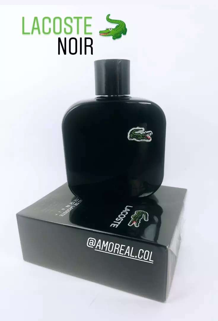 Perfume Lacoste Noir para Hombre 0