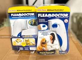 Peine electrico mata pulgas para perros y gatos