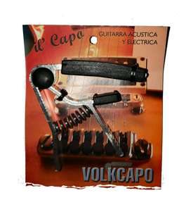 Capotraste Transporte Guitarra Acustica o Electrica Volkapo