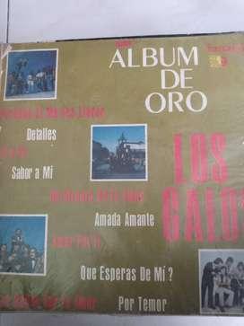 LP LOS GALOS- ÁLBUM DE ORO, LP LOS VISCONTI-PAISAJE COLOMBIANO; $15.000 cada uno