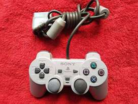 CONTROL MANDO PLAY STATION ONE UNO RETRO FAT COMO NUEVO ORIGINAL 100% GARANTIA DOMICILIO