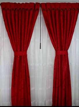Hogar, cortinas material jackar