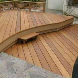 Decís en madera