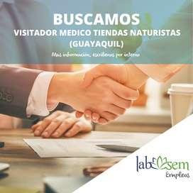 VISITADOR MEDICO DE TIENDAS NATURISTAS