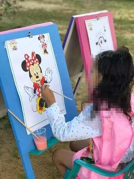 Vendo tableros de pinturas para niños