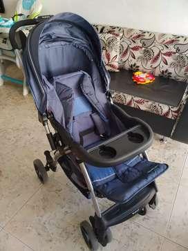 Coche más porta bebé