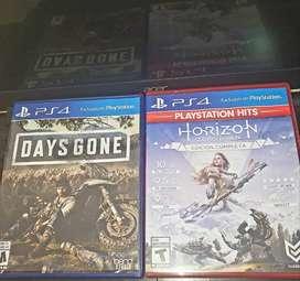 Horizon zero dawn (edición completa) Days gone Ps4