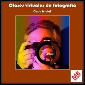 Clases de fotografía y edición- Nivel inicial y avanzado