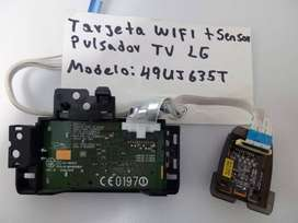 Wifi,Sensor Y Pulsador De Control  Tv LG 49uj635t