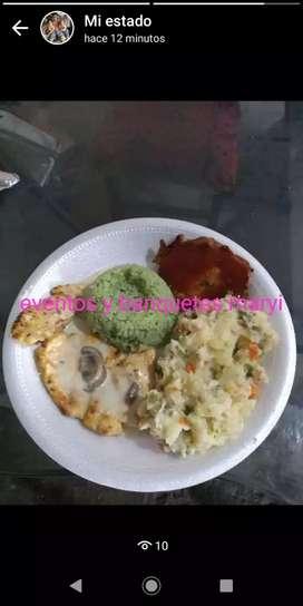 Deliciosa comida especial para fiestas en cali