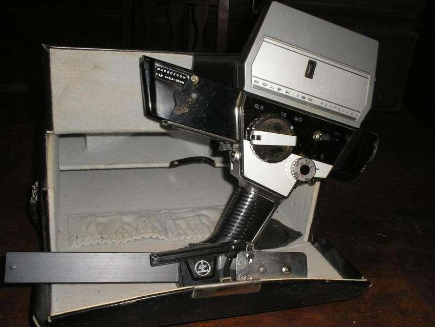 FILMADORA Super 8 mm,marca BOLEX 160,SUIZA,COMPLETA 0