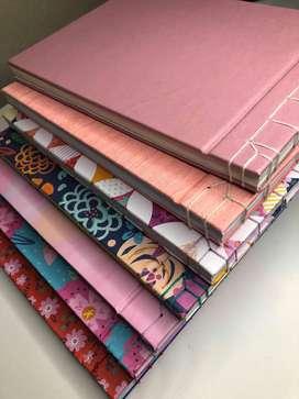 Cuadernos Boceteros artesanales