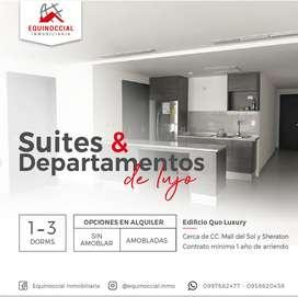 Alquiler de suites y departamentos de lujo Edificio Quo Luxury