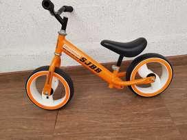 Bicicleta niño de práctica