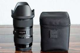 Lente Sigma 18-35mm F1.8 Art Dc Hsm Para Canon