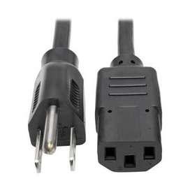 Cable poder Tripp-Lite 1.8 mts NEMA 5-15P IEC-320-C13. P006-006