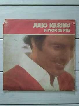 Lp Vinilo Julio Iglesias A Flor De Piel ( Ver Descuentos)