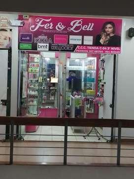 Traspaso tienda de productos de belleza