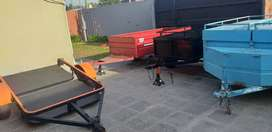 Batanes y trailers.