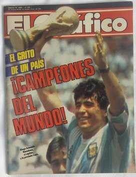 Revista El Gráfico - Campeones Del Mundo! N3482