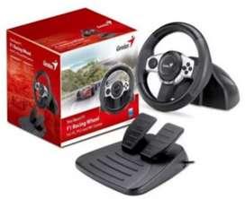 volante Genius F1 Trio Racer para PC, Play3 y Wii. Nuevo!!