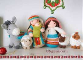 Manualidades Navideñas tejidas a crochet