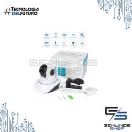Camara Robotica Inalambrica Wifi 3 Antenas 360º V.noct 1080p