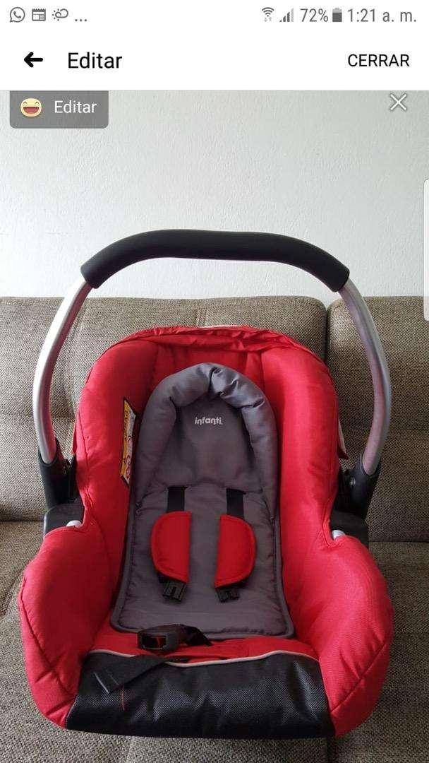 Silla de baby para auto c/. Rojo Infanti 0
