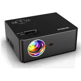 Mini Proyector Led Wimius S2 5500 Lúmenes Nativo Hd 720p